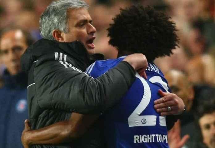 Willian Reuni dengan Mourinho Jika Tak Perpanjang Kontrak di Chelsea
