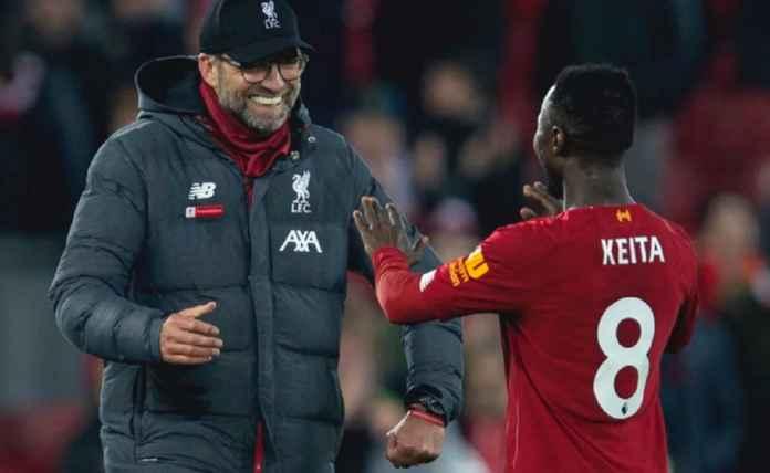 Naby Keita Gantikan Jordan Henderson di Liverpool vs West Ham