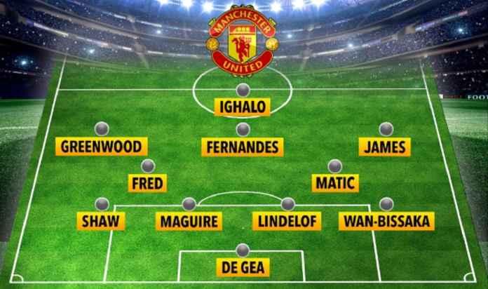 Odion Ighalo Jadi Starter, Ini Lineup Manchester United di Kandang Chelsea