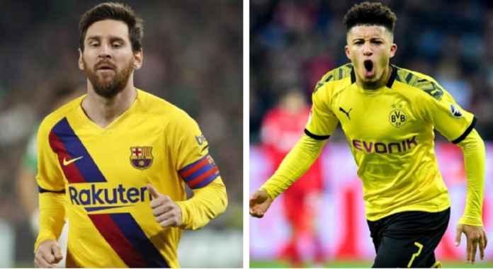 Lionel Messi dan Jadon Sancho: Seni Mencetak Gol dan Assist