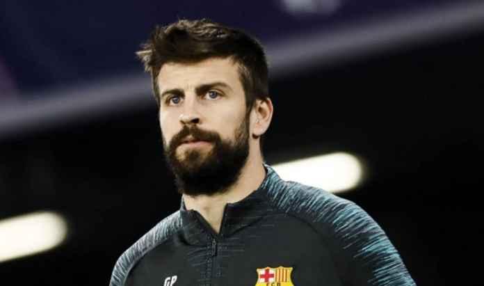 Gerard Pique Tak Dinyatakan Absen Membela Barcelona di El Clasico