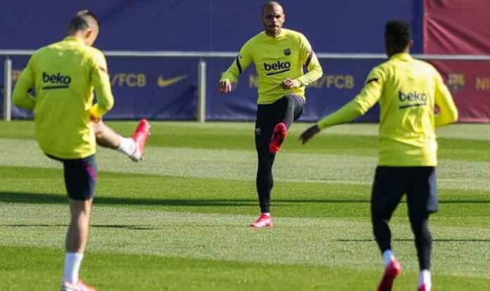 Martin Braithwaite Langsung Masuk Skuad Barcelona Kontra Eibar