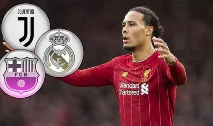 Barcelona dan Real Madrid Ramaikan Perburuan Virgil van Dijk