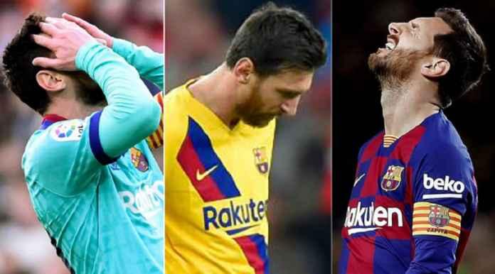 Lionel Messi Lakoni Tengah Musim Terburuk