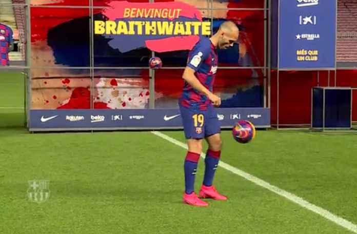 Lionel Messi Dipuji Braithwaite Bisa Jadi Tuhannya Sepakbola
