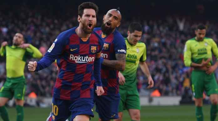 Messi 18 Gol di Liga Spanyol Usai Cetak Empat Gol Barcelona vs Eibar