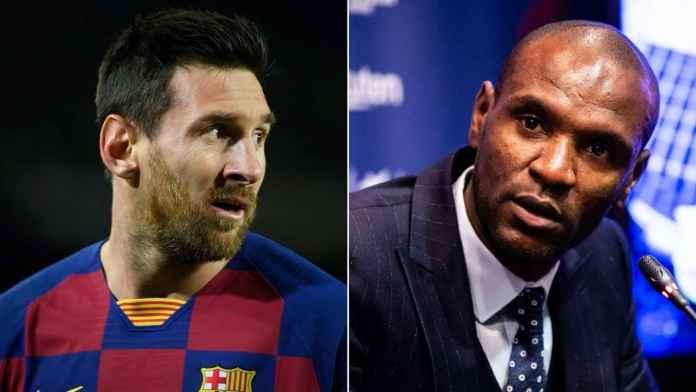 Lionel Messi dan Eric Abidal - Barcelona