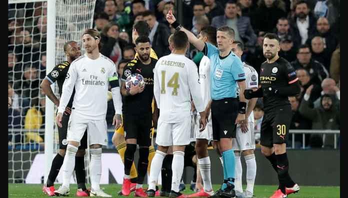 Kartu Merah Sergio Ramos Disengaja? Lihat Gerak Kaki Gabriel Jesus