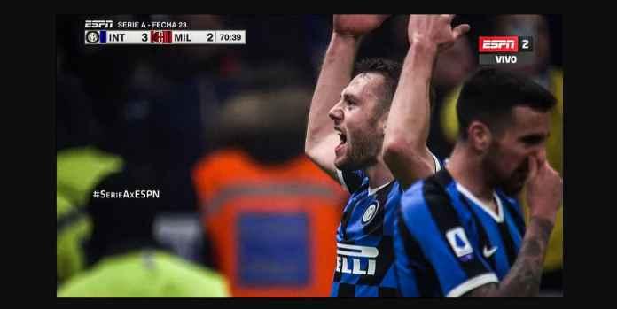 Empat Gol Balasan Inter Kejutkan Milan, Gagal Menang Deh