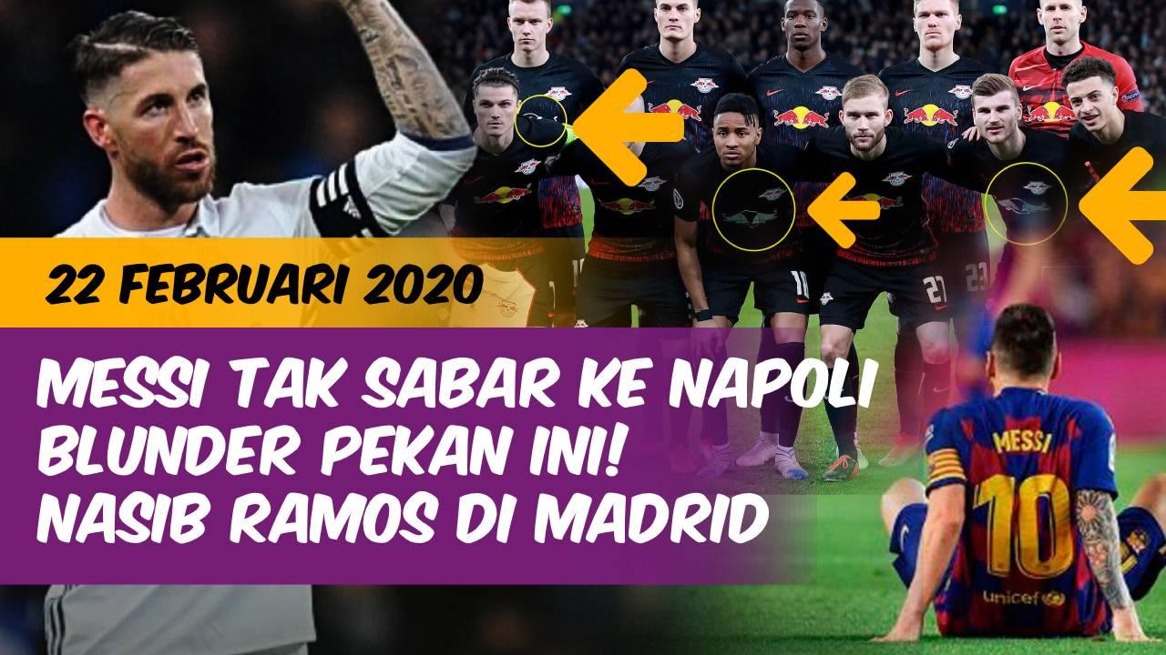 Berita  Messi Ngebet Ke Napoli Blunder Konyol