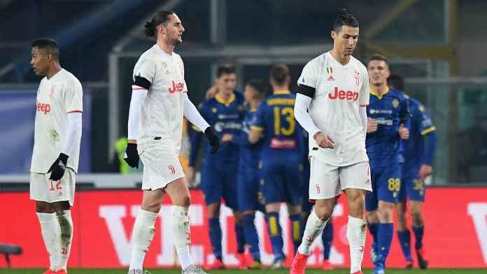 Juventus Dipermalukan Verona, Cristiano Ronaldo Marah