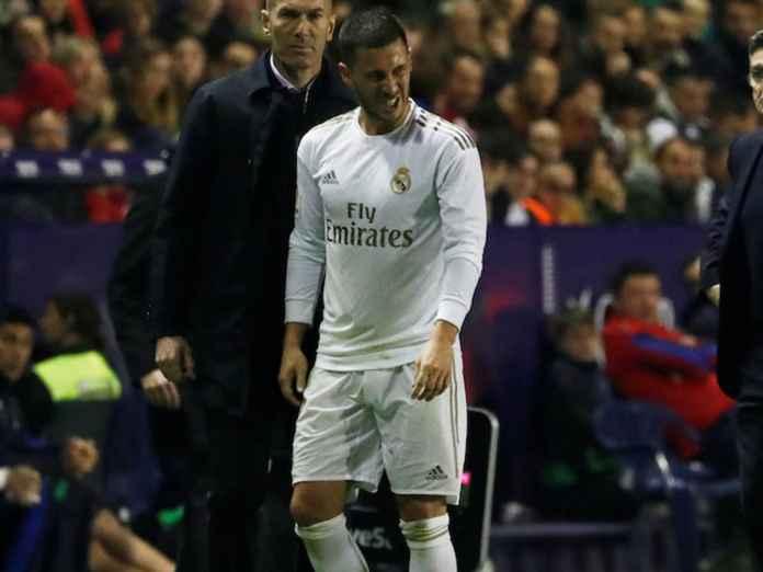 Eden Hazard Tumbang Lagi, Zinedine Zidane Pusing Tujuh Keliling