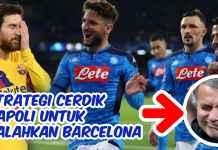 liga champions - strategi napoli untuk kalahkan barcelona - featured