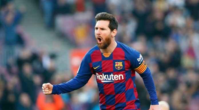Lionel Messi Tampil Kesetanan Dilaga Eibar, Bukti Cinta Barca