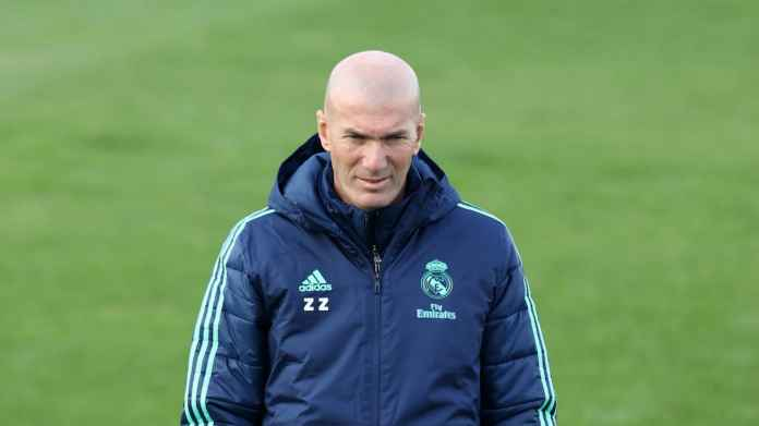 Sergio Ramos Ingin Zidane Tetap Latih Real Madrid Bertahun-Tahun