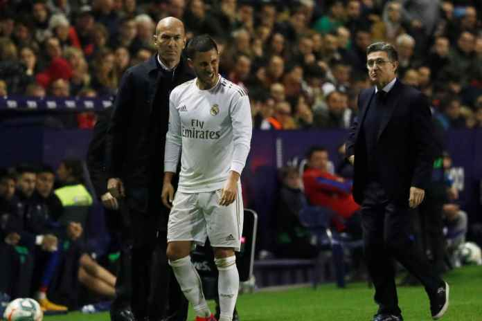 Roberto Martinez Optimis Hazard Bakal Pulih Sebelum La Liga Berakhir