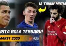 BERITA BOLA TERBARU HARI INI INDONESIA 4 MARET 2020 - FEATURED