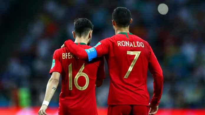 Bruno Fernandes Akui Idolakan Sosok Cristiano Ronaldo, Ini Alasannya