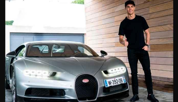 Cuma Cristiano Ronaldo Beli Bugatti Rp 169 Milyar Dengan Santainya