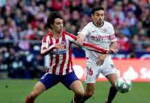 Hasil Pertandingan Atletico Madrid vs Sevilla di Liga Spanyol