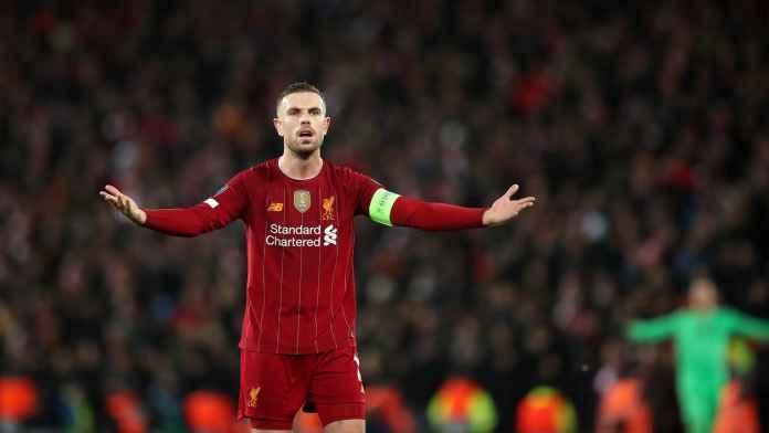Henderson Sesalkan Liverpool Buang Banyak Peluang Kontra Atletico