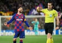 Kartu Kuning Ketiga Lionel Messi