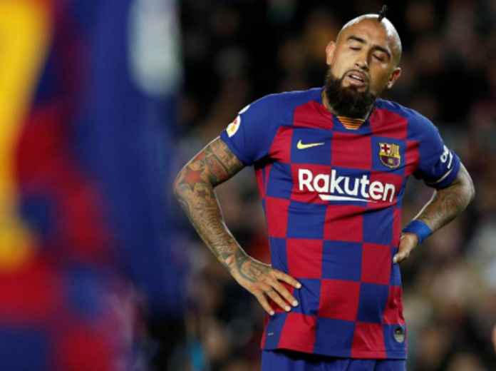 Arturo Vidal Tak Cetak Gol Sejak Barcelona Dilatih Setien
