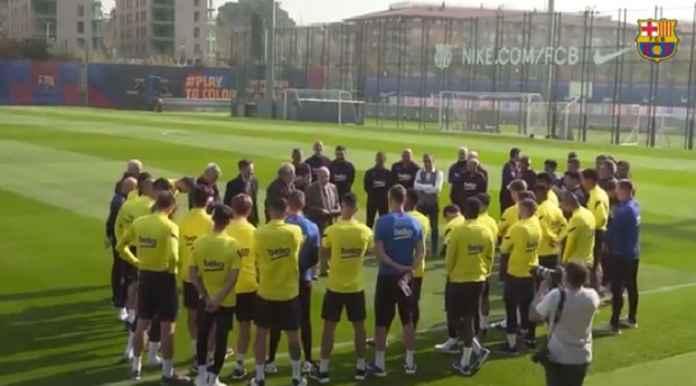 Barcelona Segera Potong Gaji Pemain dan PHK Karyawan