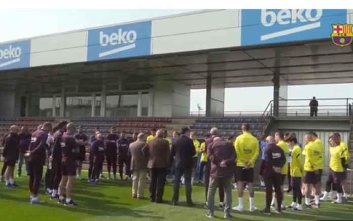 Pemain Barcelona Bersedia Potong Gaji Demi Membantu Klub