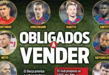 Barcelona Prioritaskan Jual Delapan Pemain, Ini Daftarnya