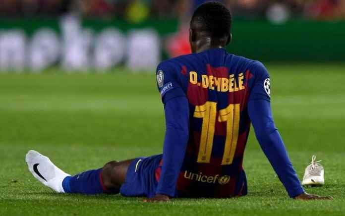Barcelona Bersalah Ousmane Dembele Cedera Terus