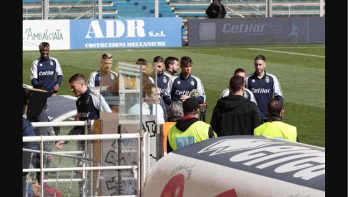 Satu Laga Serie A Dihentikan Satu Menit Sebelum Kick-off