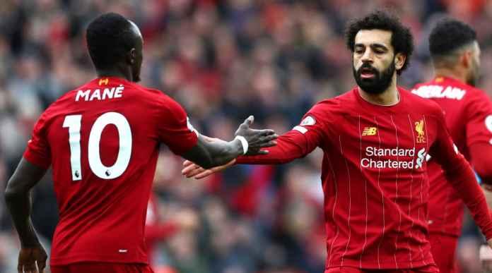 Liverpool Menang! Salah Cetak Rekor Gol, The Reds Cetak Rekor Pula