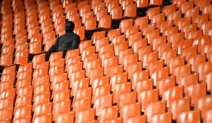 Satu-satunya penonton pertandingan Liga Champions