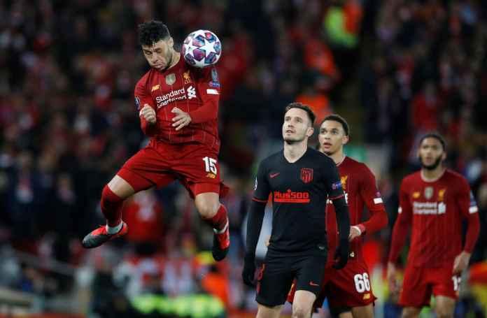 Chamberlain Dipuji Setumpuk Usai Liverpool Tumbang di UCL, Ini Alasannya