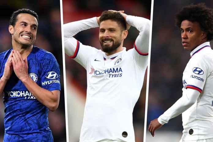 Willian,Pedro dan Giroud Bakal Hengkang Tapi Sering Dimainkan
