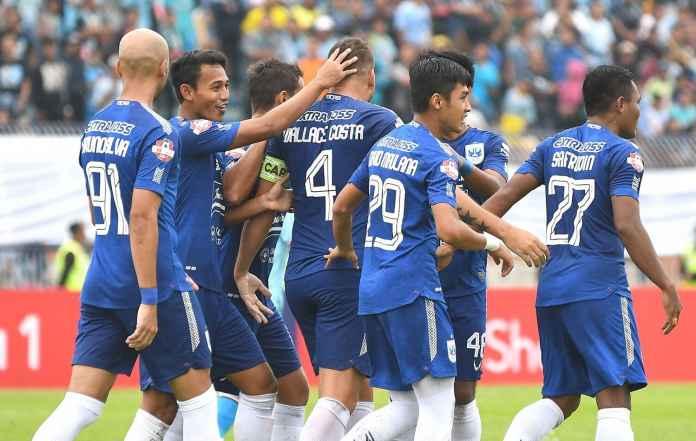 PSIS Taklukan Arema Lewat Gol Hari Nur Yulianto dan Bruno Silva