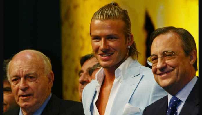 David Beckham Gagalkan Transfer Pemain Real Madrid ke Man United
