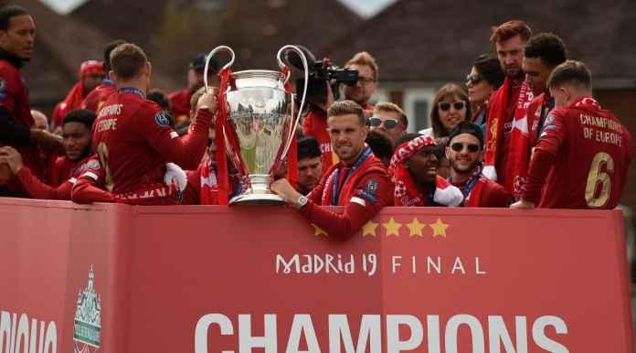 Skenario Gila, Liverpool Jadi Juara Liga Champions Sampai Tahun Depan