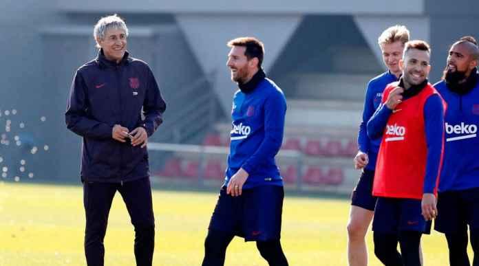 Pelatih Barcelona Pesimis: Gak Segampang Itu Mulai Lagi Liga Spanyol