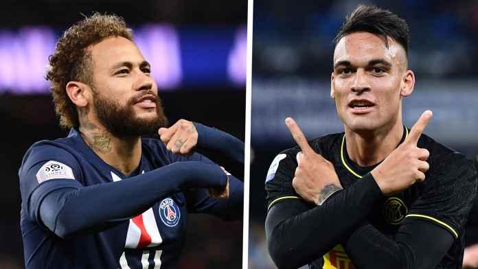 Setien Bingung Antara Neymar dan Lautaro Martinez