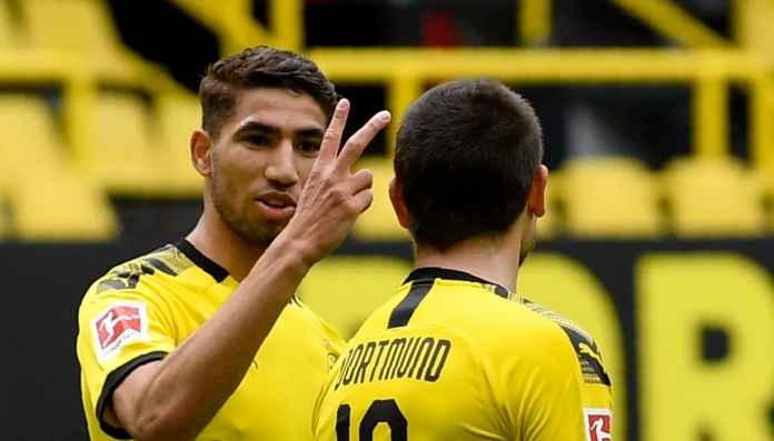 Achraf Hakimi pemain Borussia Dortmund pinjaman dari Real Madrid
