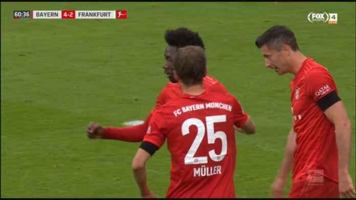 Bayern Munchen vs Frankfurt 5-2, Tiga Menit yang Kejutkan Die Roten