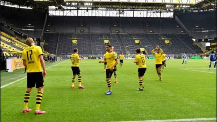 Hasil Borussia Dortmund vs Schalke 4-0, Balas Dendam Derby 2017