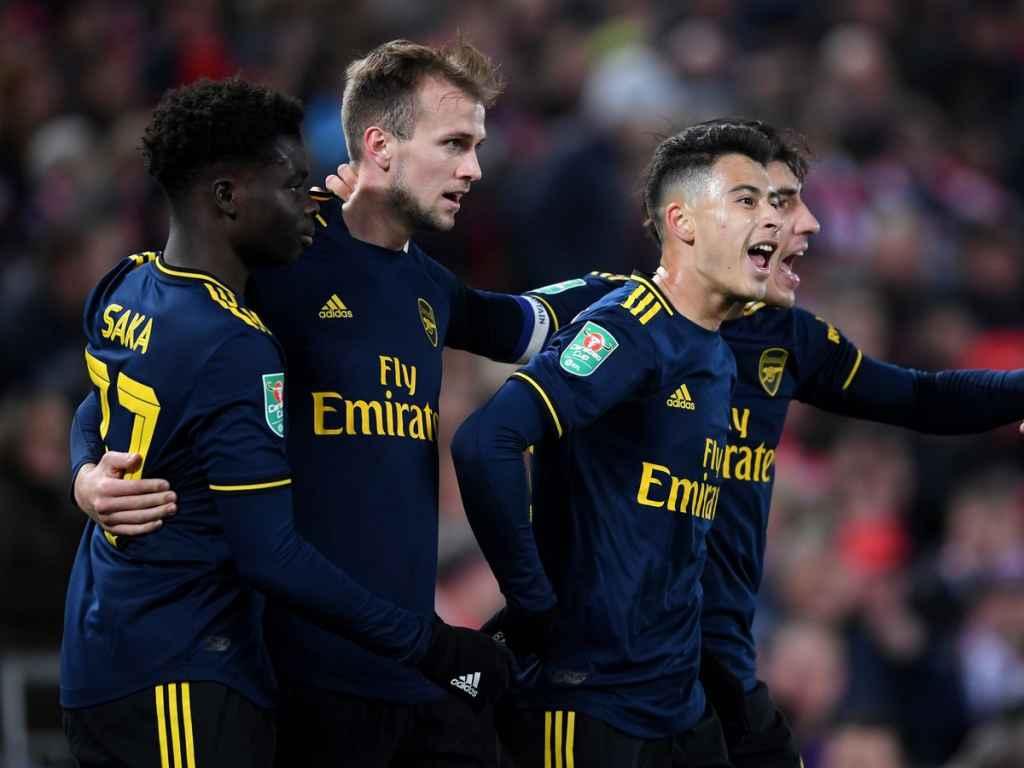 Bukayo Saka Dan Dua Rekannya Di Arsenal Terpilih Jadi Pemain