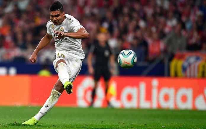 Casemiro gelandang Real Madrid