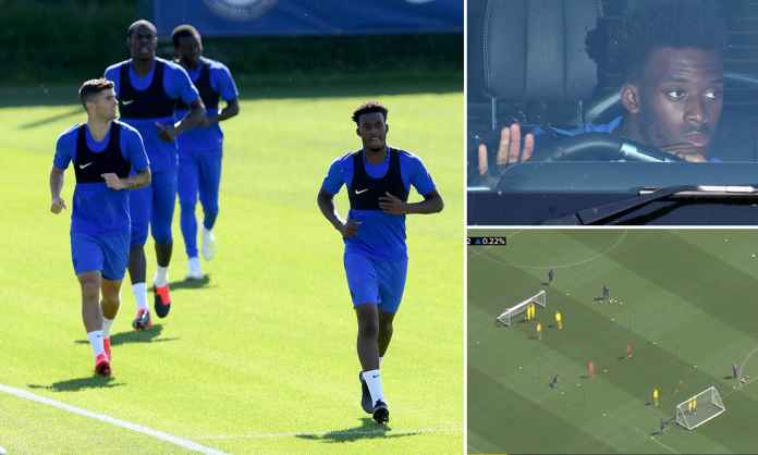 Chelsea Ijinkan Callum Hudson-Odoi Ikut Latihan