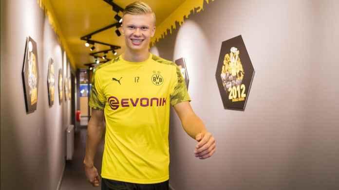 Dortmund Unggul 1-0 Atas Schalke Dalam Derby Ruhr, Haaland Gol!