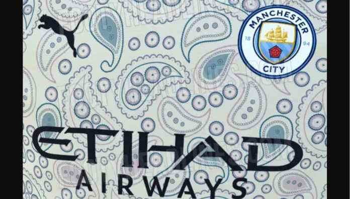 Jersey Manchester City Dikritik Penggemar Sebagai Bermotifkan Virus