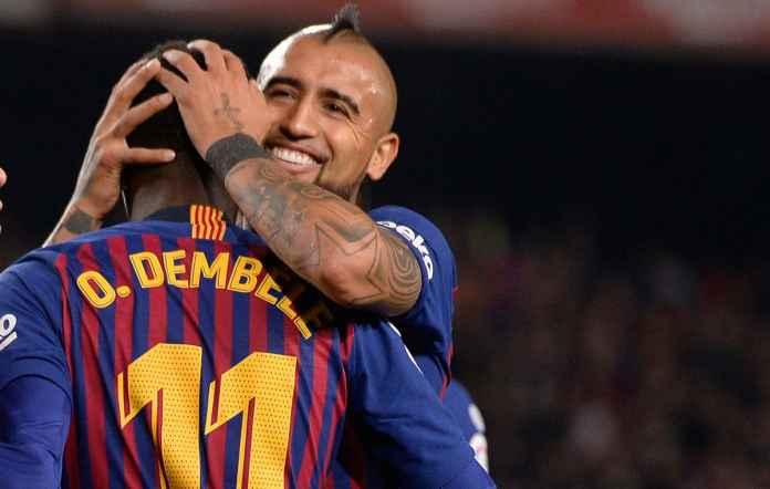 Juventus Inginkan Ousmane Dembele dan Arturo Vidal